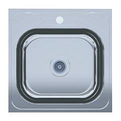 Кухонная мойка UA 50*50 Polish 0,6мм