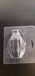 Форма для шоколаду граната (лимонка), пластик