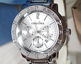 Наручные кварцевые часы HS0043 Серебряного цвета, фото 2