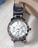 Наручные кварцевые часы HS0043 Серебряного цвета, фото 5