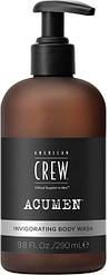 Гель тонизирующий для душа American Crew Invigorating Body Wash 290 мл