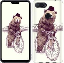 Чехол EndorPhone на Xiaomi Mi 8 Lite Медведь на велосипеде 4148u-1585-18675 (hub_YCoD54723)