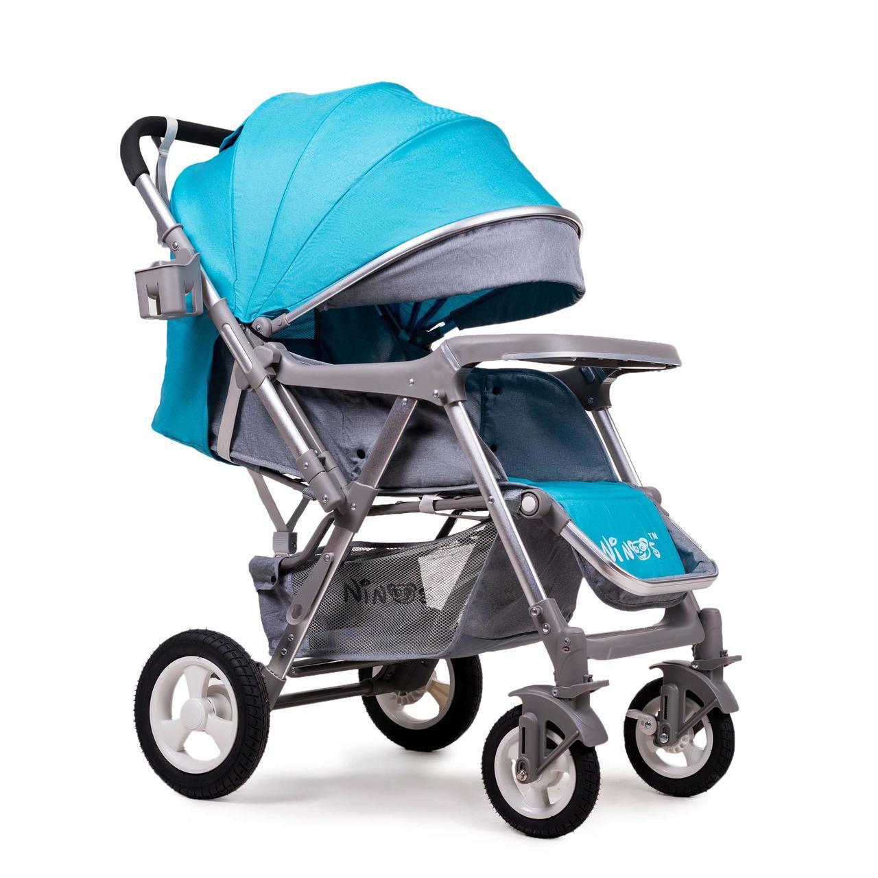 Прогулочная коляска Ninos Light Blue (Maxi)