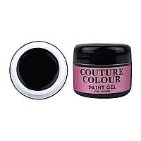 Гель-краска COUTURE Colour Paint Gel no wipe BLACK 5 мл