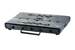 Мангал-чемодан DV - 6 шп. x 3 мм  Горячекатаный (241016)
