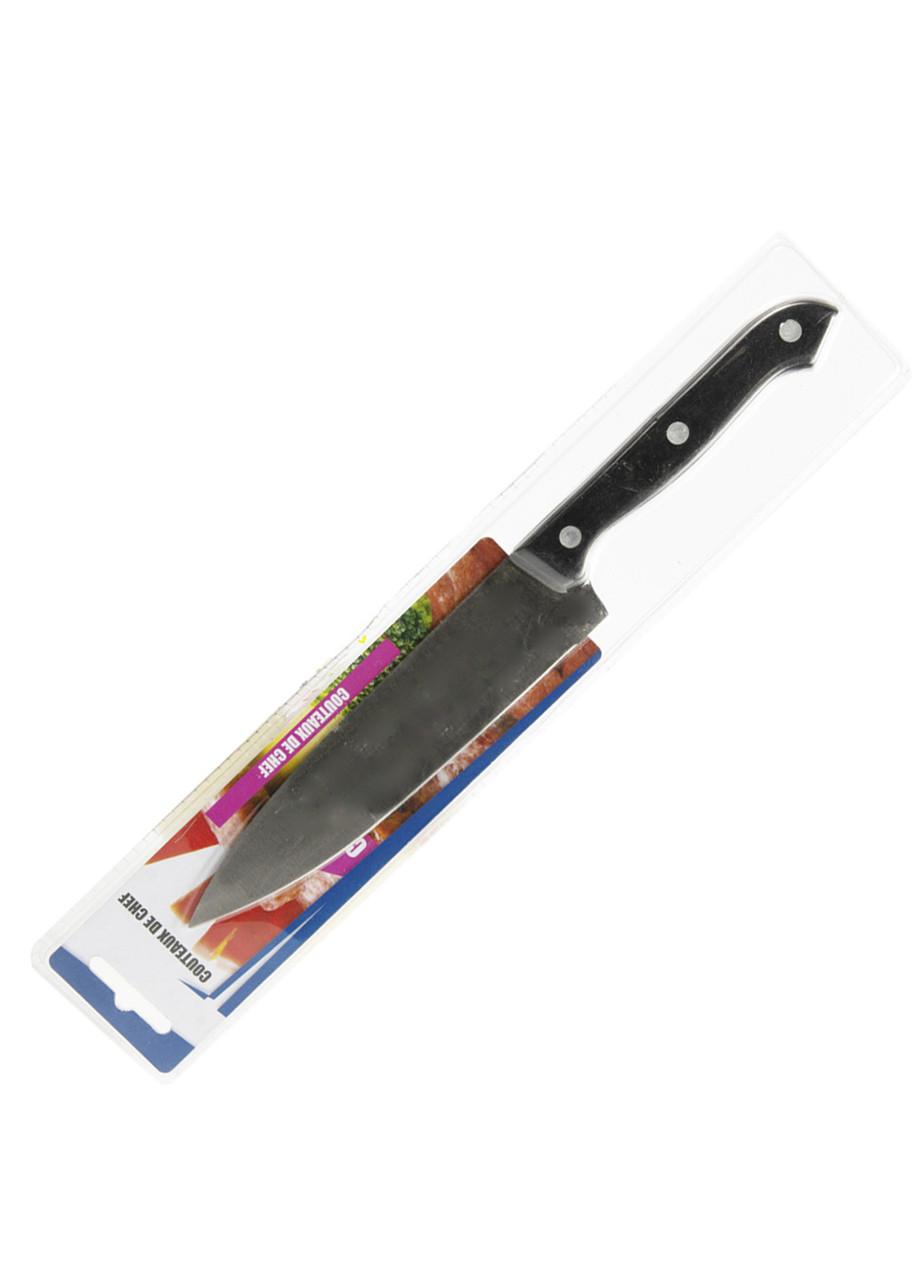Универсальный кухонный нож Penny 15см Черный, Серебряный