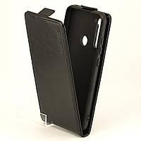Чохол Idewei для Xiaomi Redmi Note 8T фліп вертикальний шкіра PU чорний