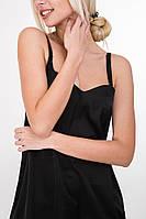 Красивая ночная рубашка 65000 черного цвета S  M  L