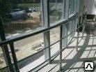 Изготовление хромированные перила для лестниц