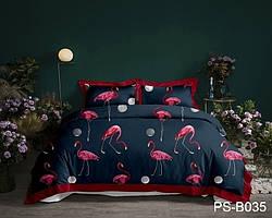 Двуспальный комплект постельного белья с 3D эффектом PS-B035