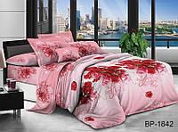 Евро комплект постельного бельяс 3D эффектом BP1842