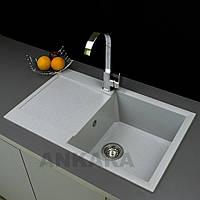 Гранитная мойка кухонная Ankara Ultra L