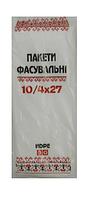 Вышивка Пакет фасовка 10х27 (600) 10уп / меш