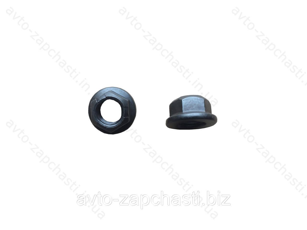 Гайка 10 коллектора DAEWOO LANOS с юбкой (ш 1,25) (10 шт) (пакет)