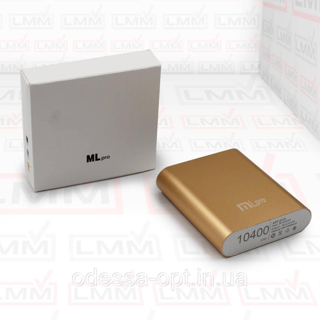 Моб. Зарядка POWER BANK MLpro 10400/4800mAh