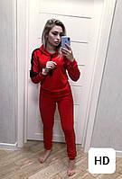 0050 красный женский спортивный костюм (42-50, 5 ед.)