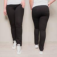 9769-03 черные (A) Sunbird джинсы женские батальные летние стрейчевые (34,35,35,36,36,37, 6 ед.), фото 1