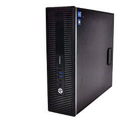 Офисный ПК HP Elitedesk 800 G1/8GB/i5-4570/SSD 128gb/DVD-RW Refurbished (F2X19US#ABA-A)