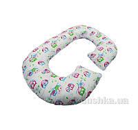 Подушка для беременных Рогалик Kidigo Совы PDV-R1