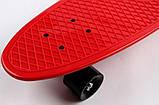 "Скейт скейтборд пенни борд Nickel 27"" красный, фото 3"
