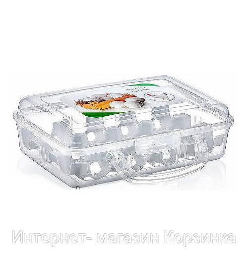 Контейнер для перенесення яєць 16*23*7,5 см (12шт) YU-120 (12) Еліф