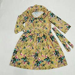 Модное платье для девочки подростка