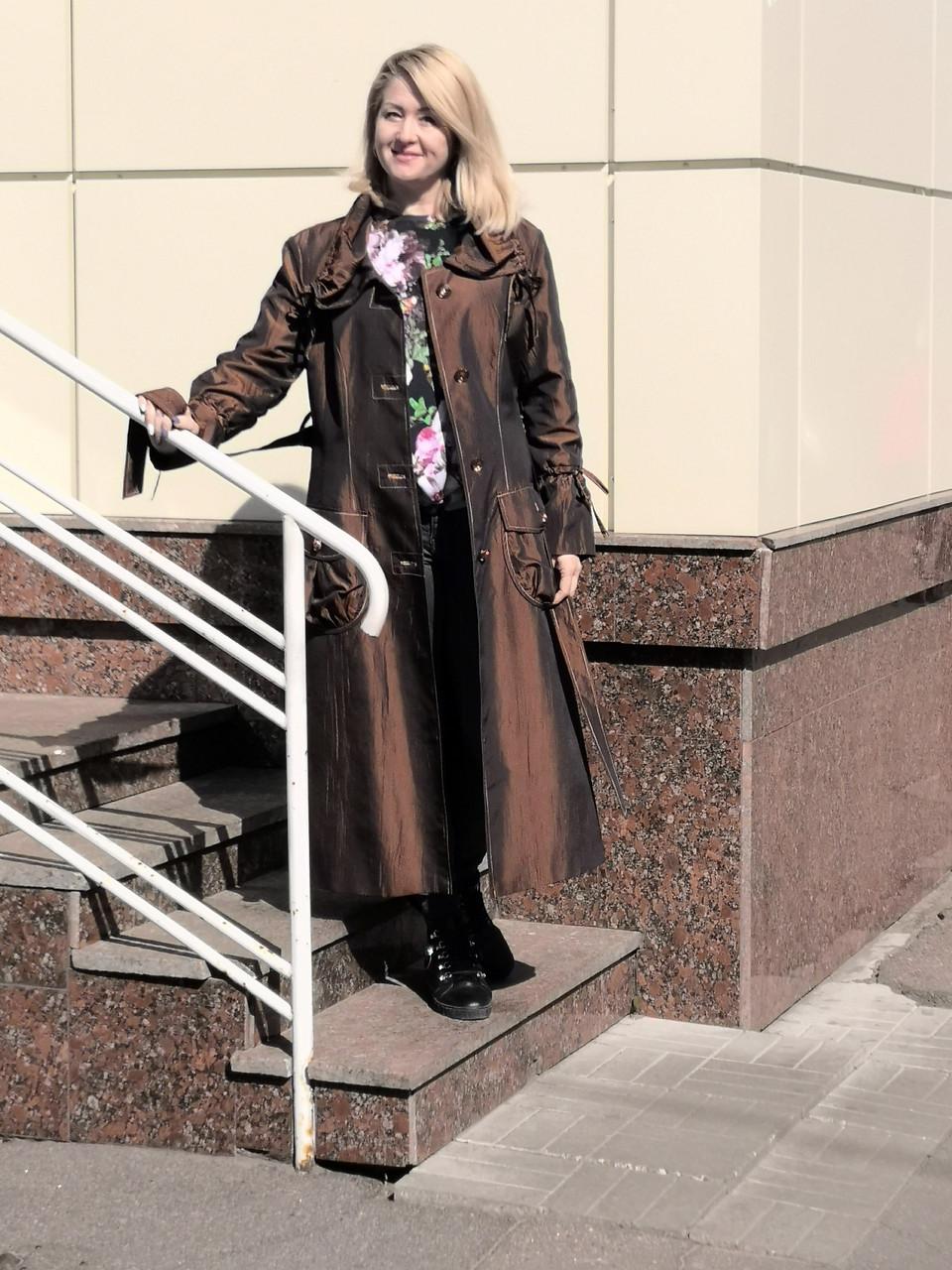 Плащ-пальто распродажа 52 и 54