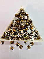 "Стразы ss16 Gold (4,0мм) 1400шт ""Crystal Premium"""