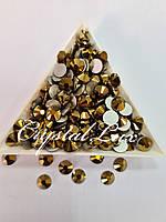 "Стрази ss30 Gold (6.5 мм) 50шт ""Crystal Premium"""