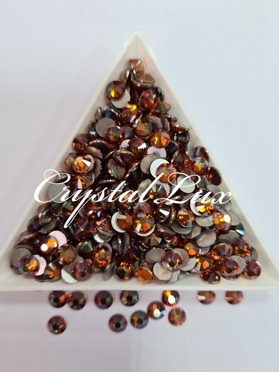 """Стразы ss20 Amber 1400шт, (5,0мм) """"Crystal Premium"""""""
