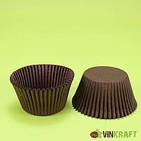 Паперова форма для кексів 140 (55х42,5), коричнева