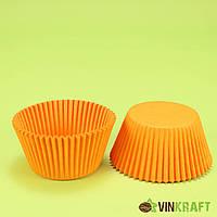 Паперова форма для кексів 140 (55х42,5), помаранчева