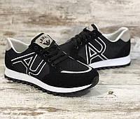 НОВИНКА! Мужские кроссовки Armani, 1 : 1 с оригиналом. Высококачественный текстиль, износостойкая подошва.