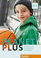 Тетрадь Planet Plus A1.1 Arbeitsbuch / Hueber