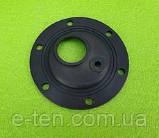 Уплотнитель резиновый термостойкий под выпуклый фланец Ø120мм на 6 болтов (со смещением) в бойлер Tesy, Round