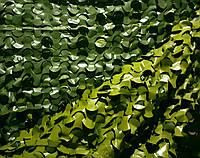 Двухсторонняя маскировочная сетка Camonet Зеленая двухцветная  PE, фото 1