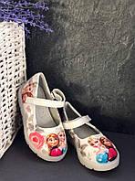 Туфли на девочку светящиеся, балетки