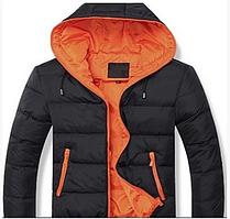 Мужская куртка с капюшоном на синтепоне весна-осень р. 46-48