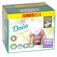 Dada подгузники Jumbo box Extra Soft 4 Maxi (7-18 кг) 2*41 шт