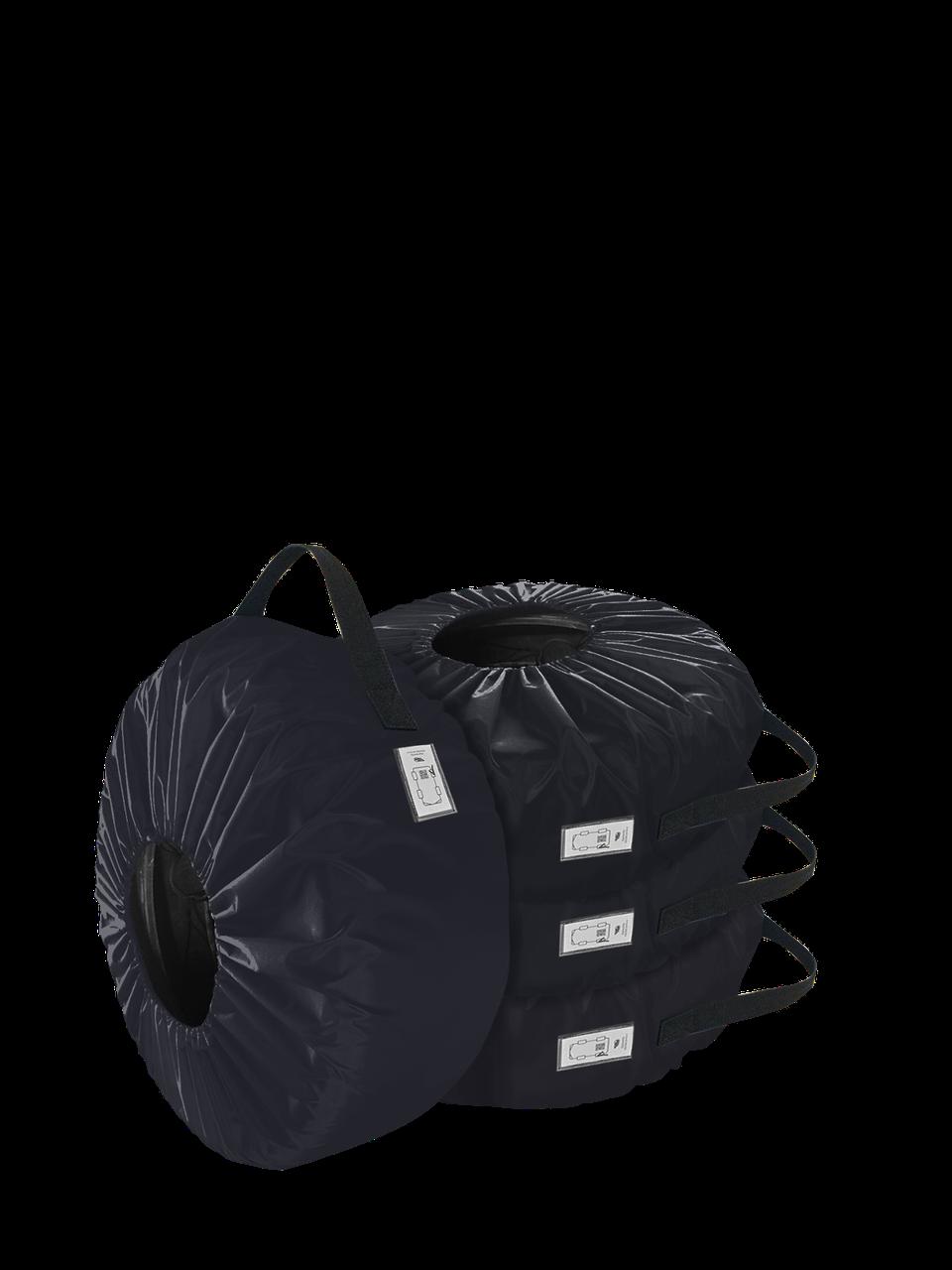 Комплект чохлів для коліс Coverbag Eco S синій 4шт.