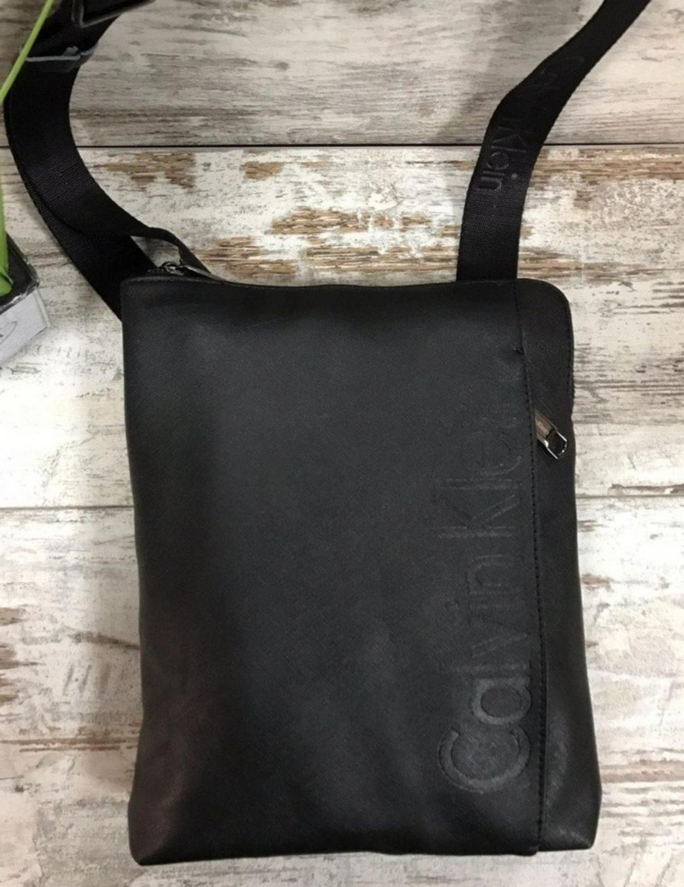NEW 2020! Сумка мужская Сalvin Klein стильная, удобная, несколько  отделений. Материал: качественный текстиль.
