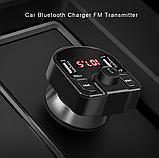 Автомобильный MP3-плеер Bluetooth 4,2 fm-передатчик USB зарядное устройство, фото 2