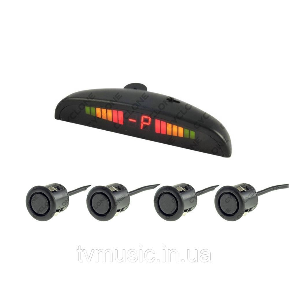 Парктроник CYCLONE SK-4T2 Black