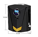 Инфлятор насос воздушный компрессор 150 PSI автомобильный DC 12V цифровой портативный  для шин, фото 2