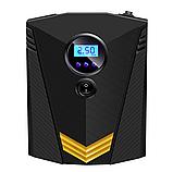 Инфлятор насос воздушный компрессор 150 PSI автомобильный DC 12V цифровой портативный  для шин, фото 8