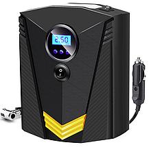 Инфлятор насос воздушный компрессор 150 PSI автомобильный DC 12V цифровой портативный  для шин