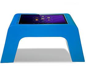 Детский интерактивный стол (синий)