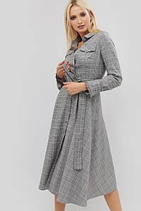 """Платье """"AMELIS"""" серый осень"""