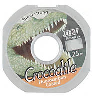 Леска Jaxon Crocodile Fluorocarbon 25m 0.16mm 5 kg