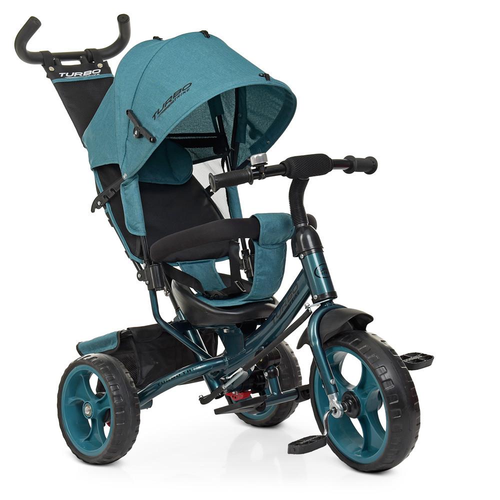 Триколісний велосипед TURBOTRIKE M 3113-21L якісна бюджетна модель
